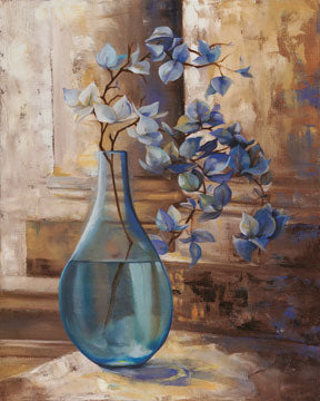 L. Montillio - Blue Glass Still I