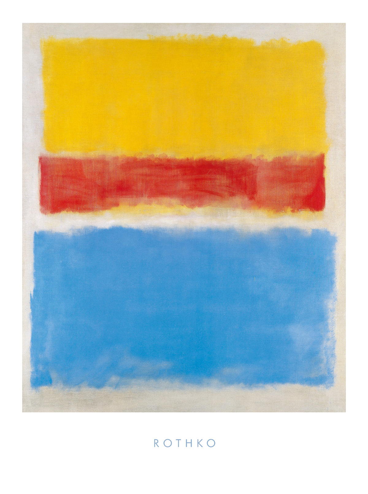 Mark Rothko - Untitled (Yellow-Red and Blue)