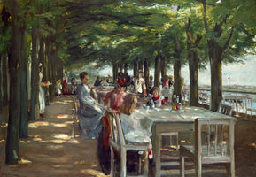 Max Liebermann - Terrasse des Restaurants Jacob