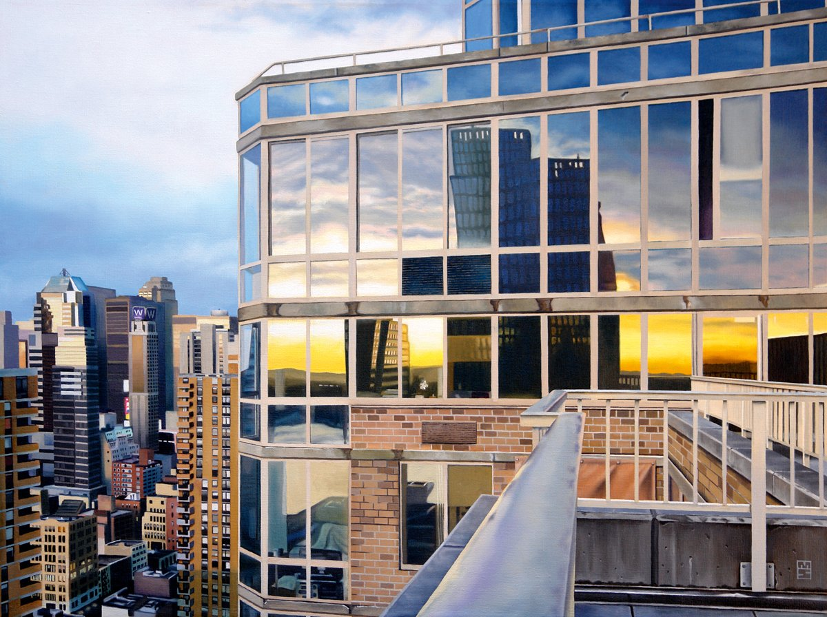 Michael Schuh - NYC Penthouse Reflections