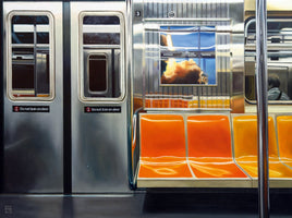 Michael Schuh - NYC Subway Reflections