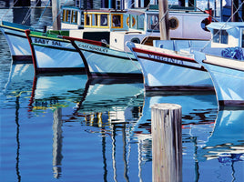 Michael Schuh - Fisherman`s Wharf Reflections