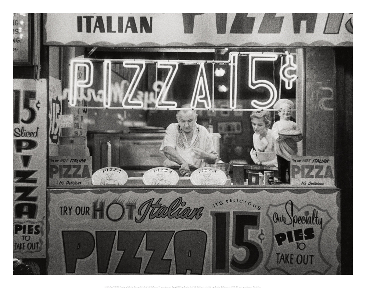 Nat Norman - Hot Italian Pizza, NYC 1955