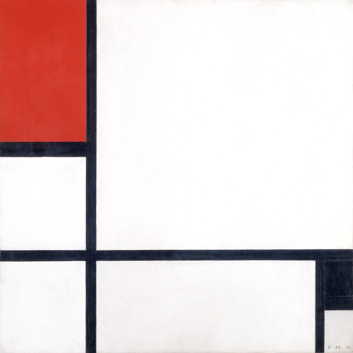 Piet Mondrian - Komposition 1929