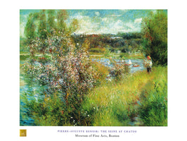 Auguste Renoir - The Seine at Chatou