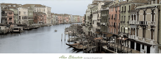 Alan Blaustein - Morning on the Grand Canal