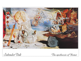 Salvador Dali - The apotheosis of Homer