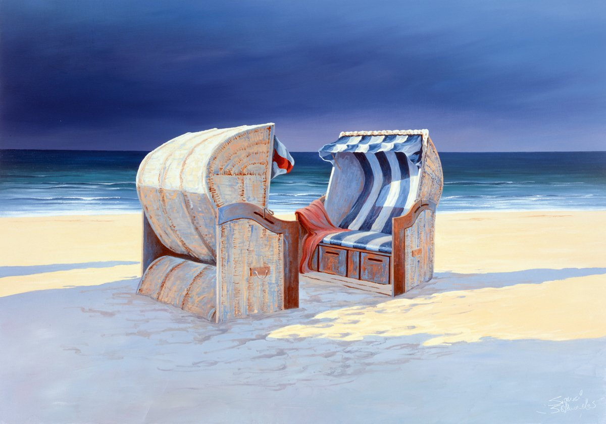 Sigurd Schneider - Beach Chairs I