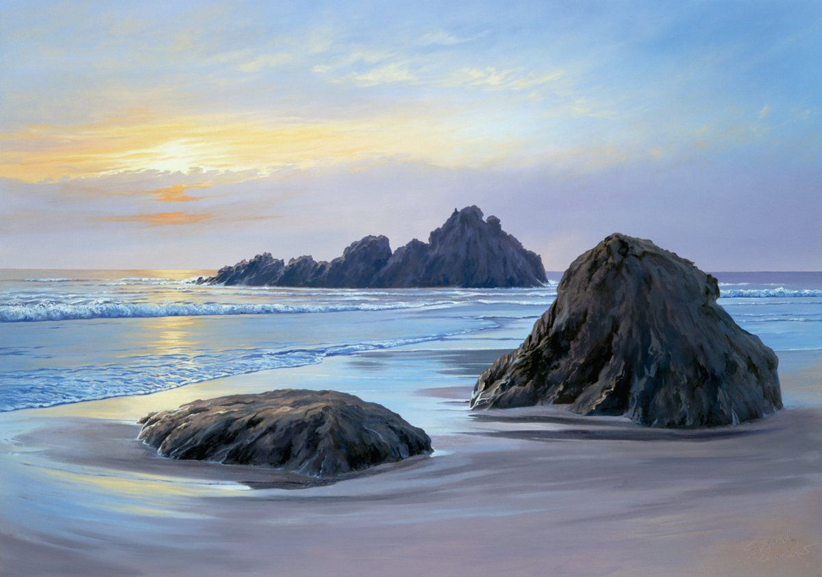 Sigurd Schneider - Sunset at Big Sur