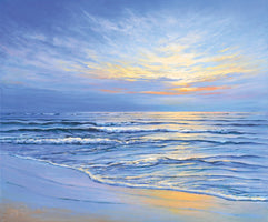 Sigurd Schneider - Sunset at Ostsee coast II
