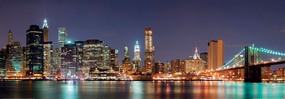 Shutterstock - New York City with Brooklyn Brid