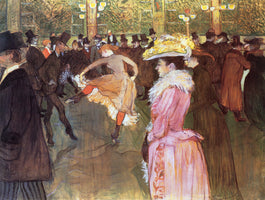 Henri De Toulouse-Lautrec - Ball im Moulin Rouge