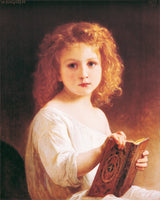 William Bouguereau - The story book