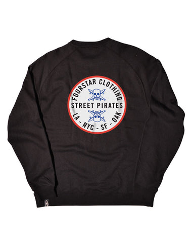 Circle Patch Crew :: Black