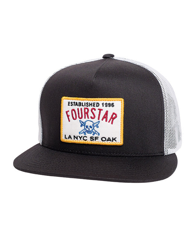 CLASSIC TRUCKER PATCH :: BLACK