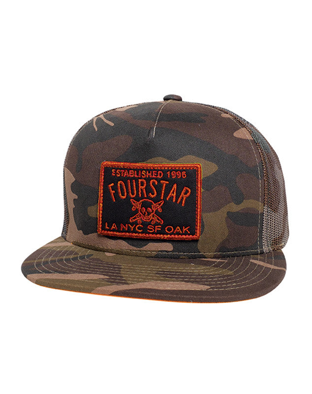 CLASSIC TRUCKER PATCH :: CAMO