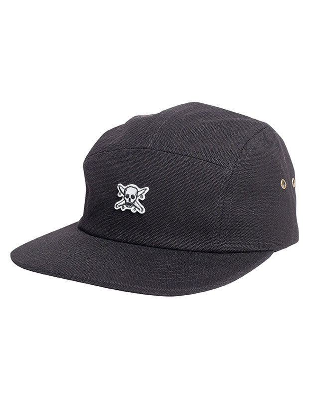 ICON CAMPER HAT :: BLACK