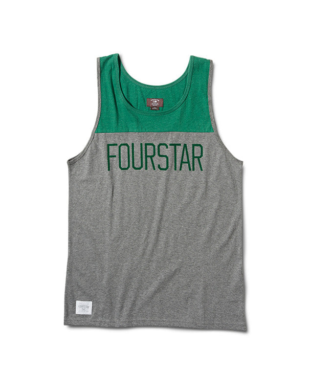 League Tank :: Grey Heather