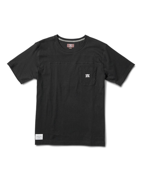 Pocket Yoke Short Sleeve :: Black