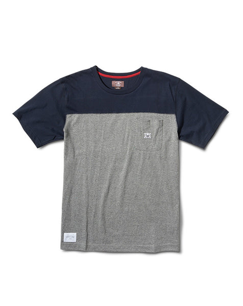 Pocket Yoke Short Sleeve :: Grey Heather