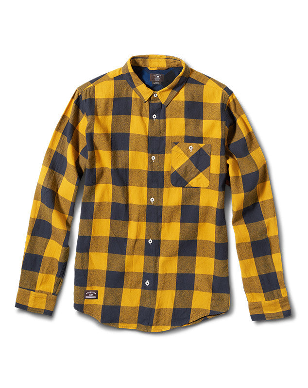 Buffalo Long Sleeve :: Mustard
