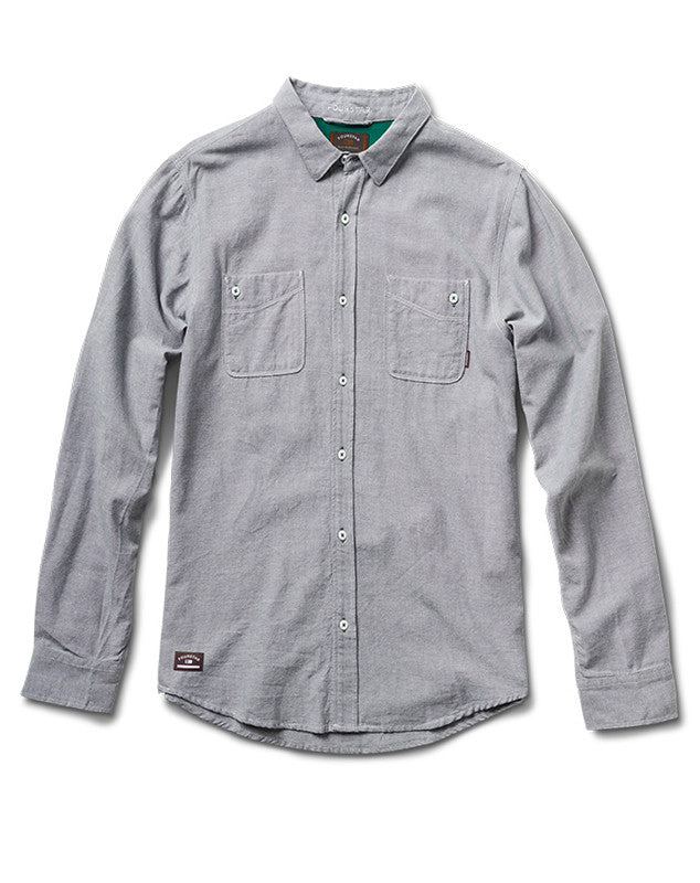 Collective Oxford Long Sleeve :: Grey