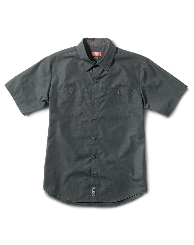 Max Workshirt Short Sleeve :: Dark Seafoam