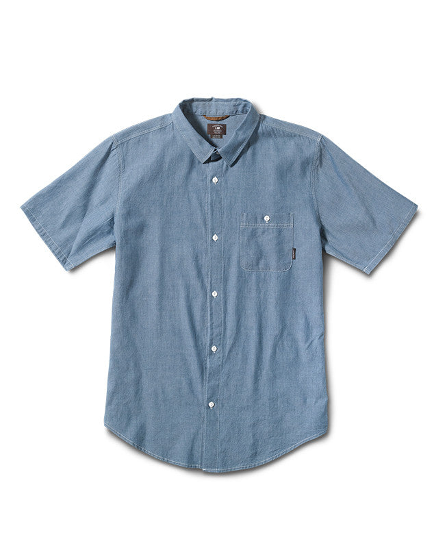 Denton Short Sleeve :: Blue Sky