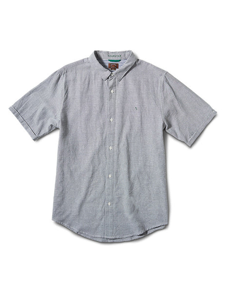 Collective Oxford Short Sleeve :: Grey