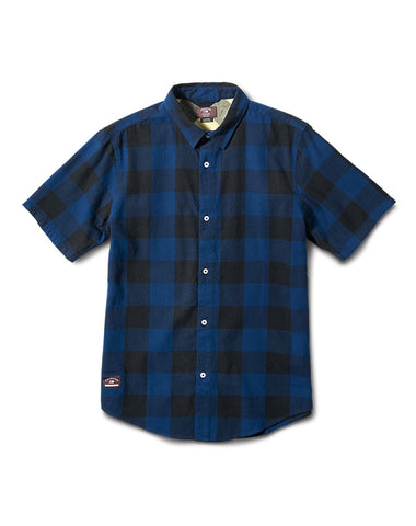 Buffallo Short Sleeve :: Dark Royal