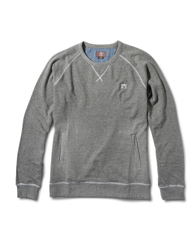 Atlantic Raglan :: Grey Heather