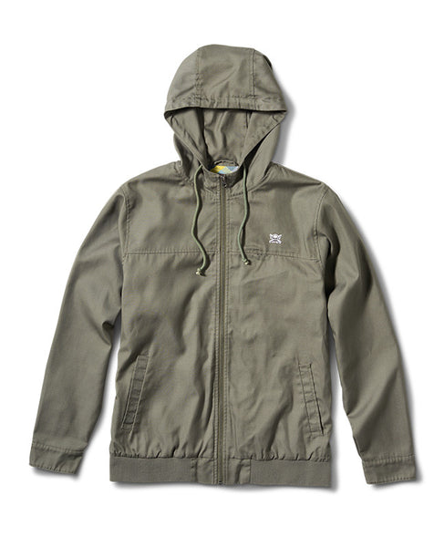 Atlas Twill Jacket :: Olive