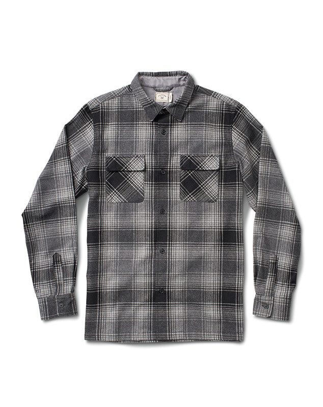 OMBRE WOOL FLANNEL :: GREY