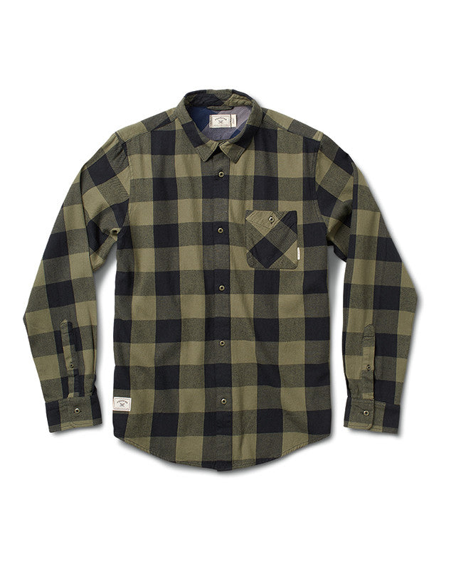 BUFFALO FLANNEL :: OLIVE