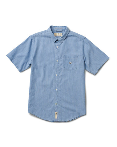 DENIM S/S :: WASHED BLUE