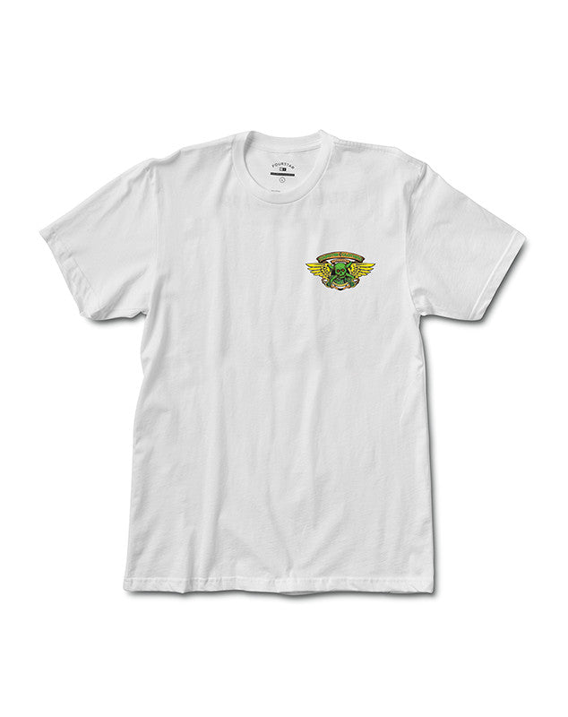 Ripper Pirate T-Shirt :: White