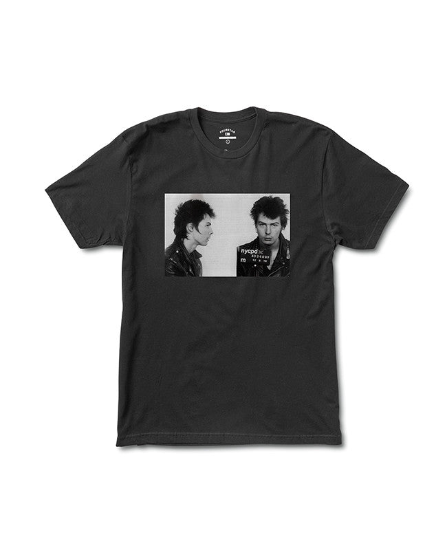 Sid Mugshot T-Shirt :: Black