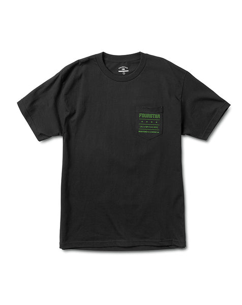 Type Pocket T-Shirt :: Black
