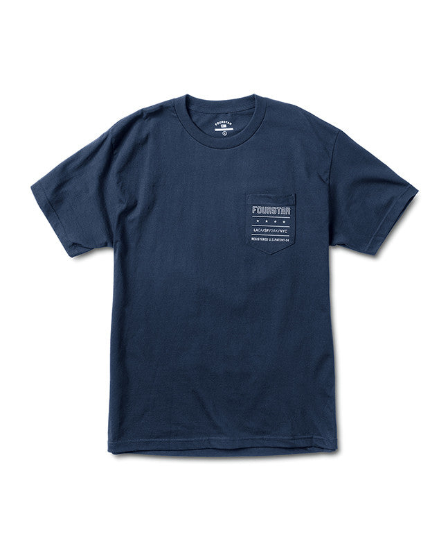 Type Pocket T-Shirt :: Navy