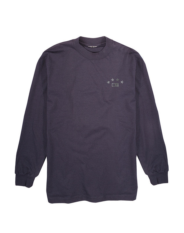 Athletic Long Sleeve T-Shirt :: Navy