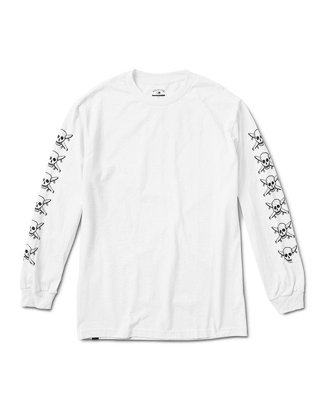 Pirate Chain Long Sleeve T-Shirt :: White