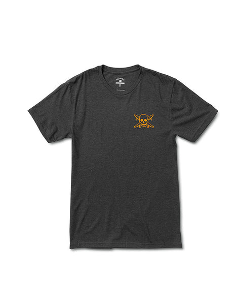 Pirate Triblend T-Shirt :: Vintage Black