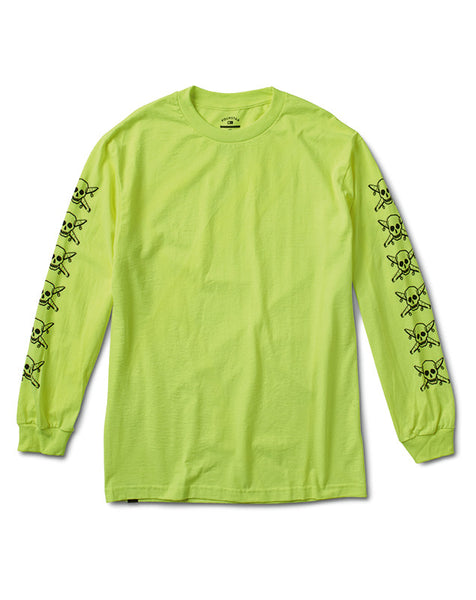 PIRATE SLEEVE L/S :: SAFETY GREEN