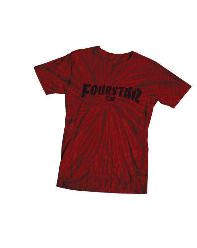 Highspeed Tie Dye T-Shirt :: Red