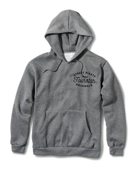 CLASSIC HOOD :: GUNMETAL HEATHER