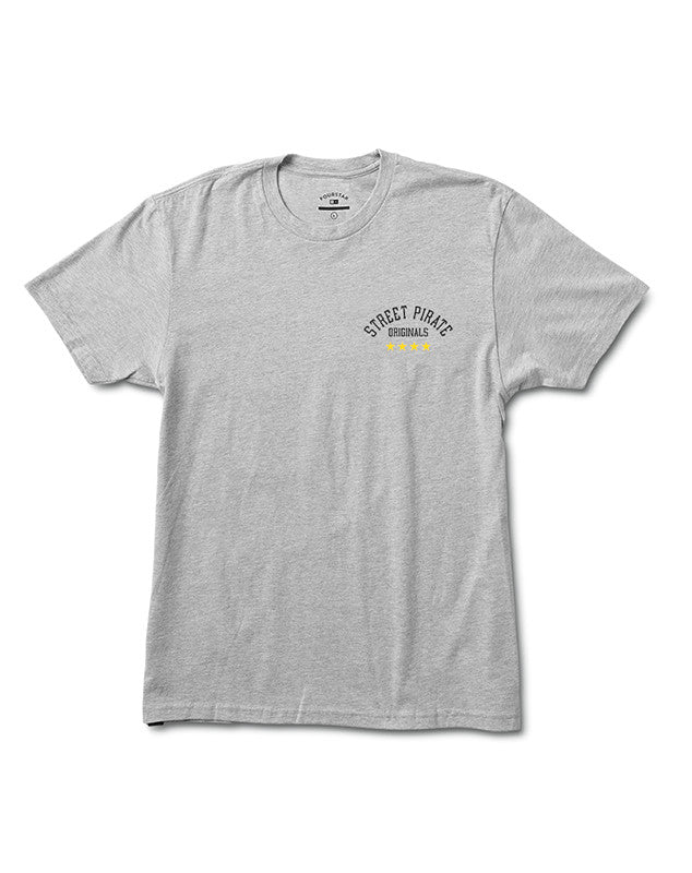 ORIGINALS TEE :: ATHLETIC HEATHER GREY