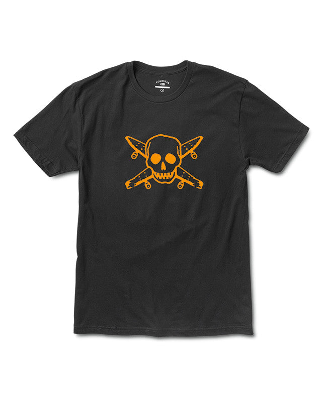 STREET PIRATE TEE :: BLACK