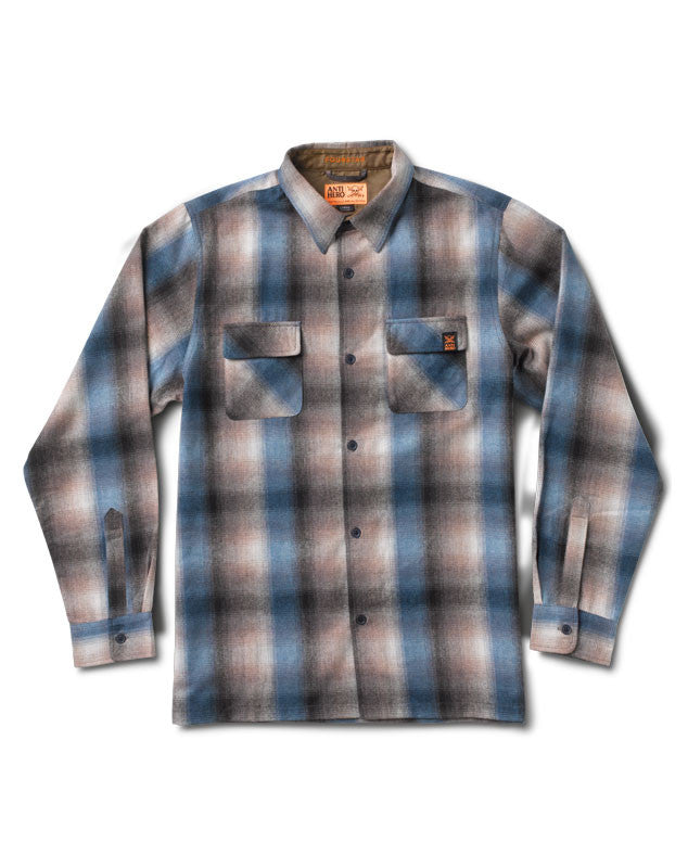 TNT Antihero Flannel :: Navy