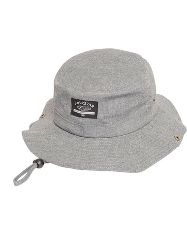 Chambray Boonie :: Grey