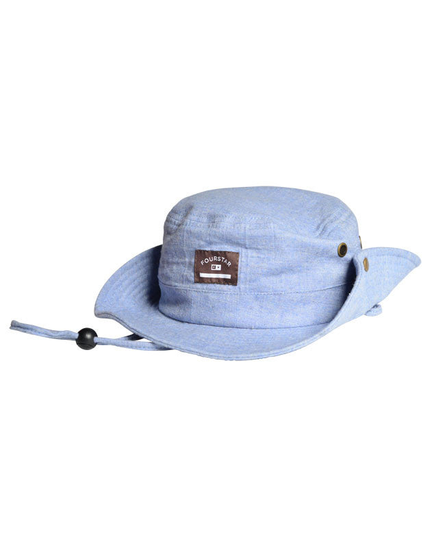 Chambray Boonie :: Light Indigo